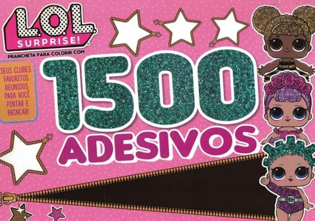 Imagem de L.o.l surprise prancheta para colorir com 1500 adesivos 01