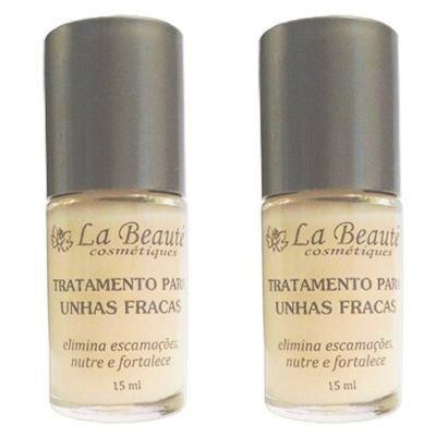 Imagem de La Beauté Tratamento para Unhas Fracas Kit Duo