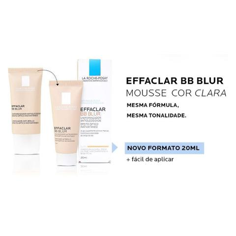 Imagem de La Roche-Posay - Effaclar BB Blur Mousse Base Média
