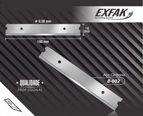 Imagem de Lâmina Exfak para Raspador de Vidro Inox 100mm
