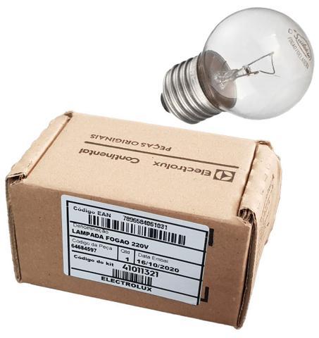 Imagem de Lampada Fogão 220v E27 40w - Electrolux 64684597 Original