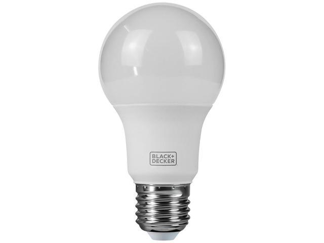 Imagem de Lâmpada LED 6W 3000K Amarela Black + Decker