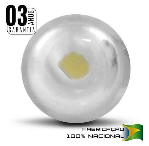 Imagem de Lâmpada LED T10 W5W Pingo 1 Polo 24V 2W Luz Branca Aplicação Lanterna Painel Teto e Placa