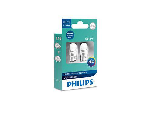 Imagem de Lampada Philips Pingo Led Ultinon 6000k W5w T10 Super Branca