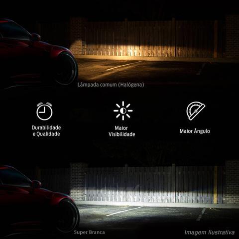 Imagem de Lâmpada Super Branca HB4 9006 8500K 12V 50/55W Efeito Xênon
