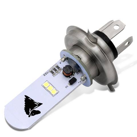 Imagem de Lâmpada Super LED H4 8000K 35W 12V Universal Aplicação no Farol Alto ou Baixo Moto