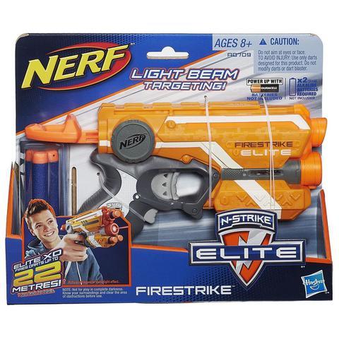 Imagem de Lançador Nerf N Strike Elite Firestrike - A0709 - Hasbro