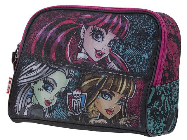 Imagem de Lancheira Infantil Escolar Monster High
