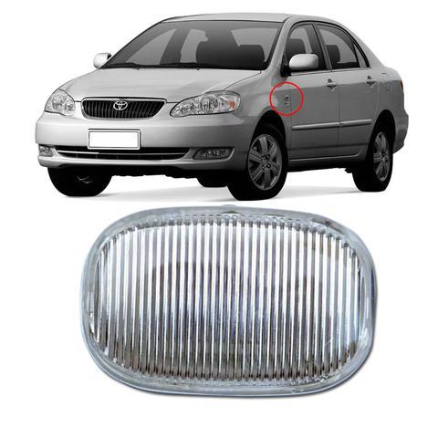 Imagem de Lanterna Lateral Pisca Corolla Fielder Hilux 2003 2004 2005 2006 2007 2008 2009 Sem Soquete