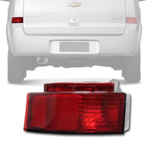 Imagem de Lanterna Refletor do Parachoque Traseiro Meriva 05 2006 2007 2008 2009 2010 2011 2012 Lado Esquerdo