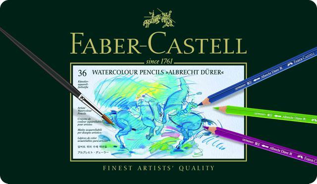 Imagem de Lápis Aquarela Albrecht Dürer Estojo com 36 Cores Ref.117536 Faber-Castell