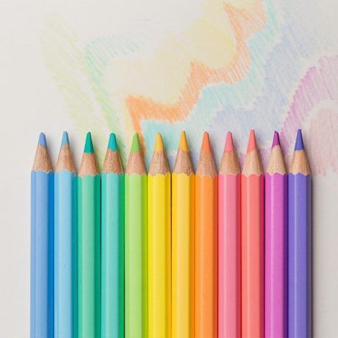Imagem de Lapis cor pastel art color 12c compactor