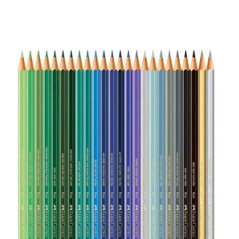 Imagem de Lapis Cor Sextavado 72 Cores Ecolapis Faber Castell