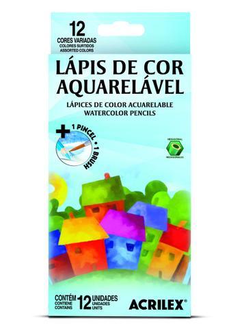 Imagem de Lápis de Cor Acrilex Aquarelável 12 un (940993)