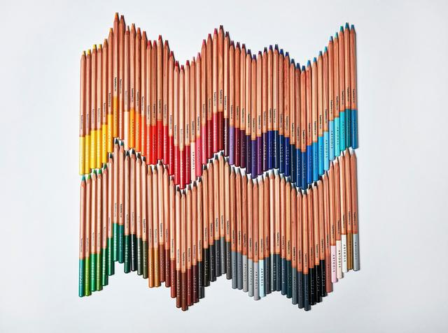 Imagem de Lapis de Cor Aquarelavel 24 Cores Artools Estojo com Pincel