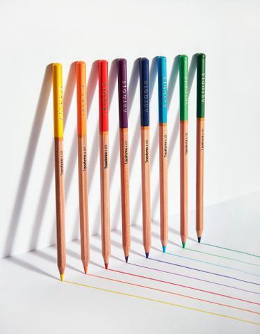 Imagem de Lapis de Cor Aquarelavel 36 Cores Artools Estojo com Pincel
