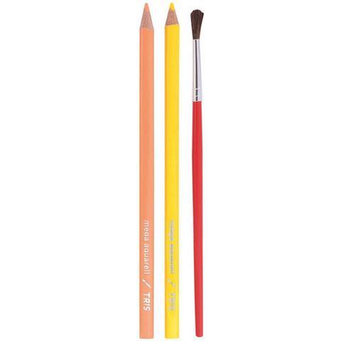 Imagem de Lapis de cor (aquarelavel) Mega Aquarell 12 Cores Tris