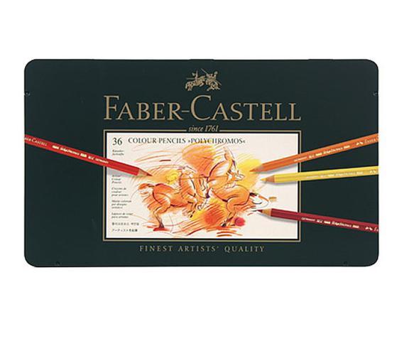 Imagem de Lápis de Cor Polychromos Estojo com 36 Cores Ref.110036 Faber-Castell