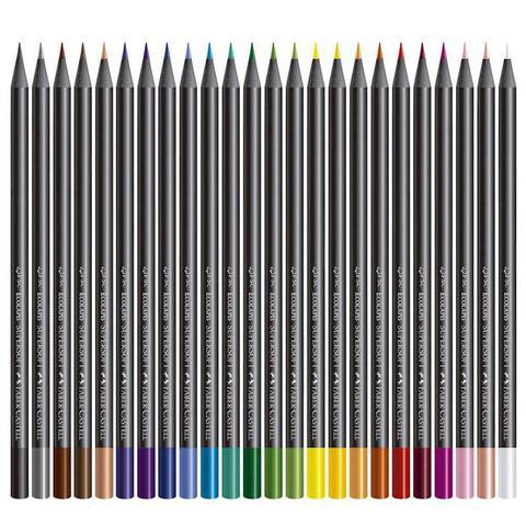 Imagem de Lapis De Cor Supersoft 24 Cores Faber Castell