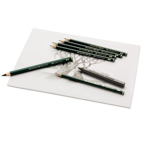 Imagem de Lápis Grafite Sextavado Faber-Castell 9000 2H - Ref. 90002H