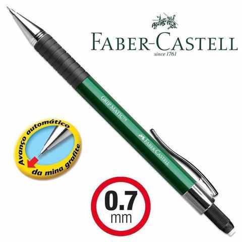 Imagem de Lapiseira 0.7 Grip Matic Metal Faber-castell