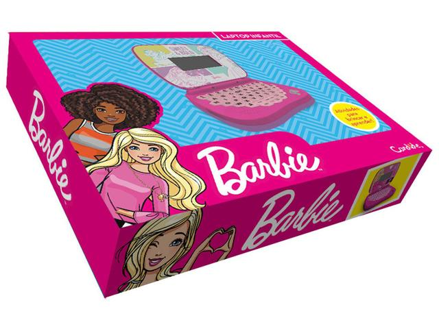 Imagem de Laptop Infantil Barbie Musical