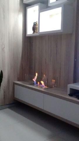 Imagem de Lareira Ecológica a Álcool Aço Inox 304 (queimador 60cm)