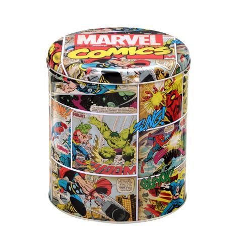 Imagem de Lata Marvel Comics 17x17x19cm