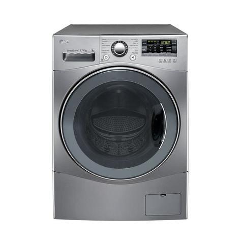 Imagem de Lava e Seca 11Kg LG Prime Touch 11Kg 127V Aço Escovado 14 Programas de Lavagem