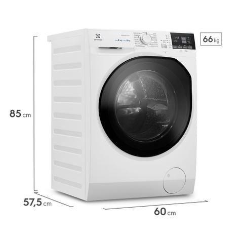 Imagem de Lava e Seca 8Kg/5Kg Electrolux Branca Perfect Care Inverter com Água Quente/Vapor (LSP08)