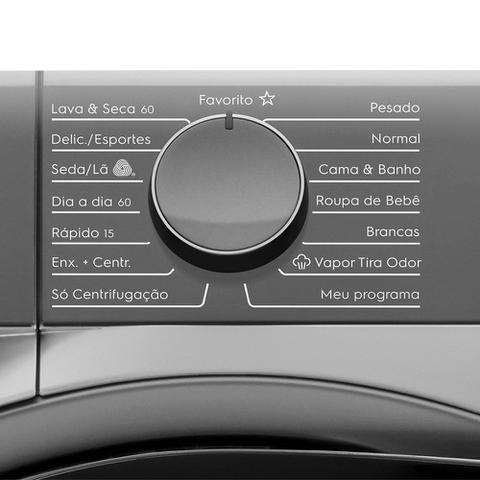 Imagem de Lava e Seca Electrolux 11Kg Com Água Quente/Vapor LSW11 Prata 110V