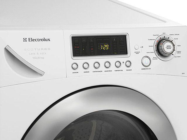 Imagem de Lava e Seca  Electrolux Eco Turbo LSE11 10,5Kg