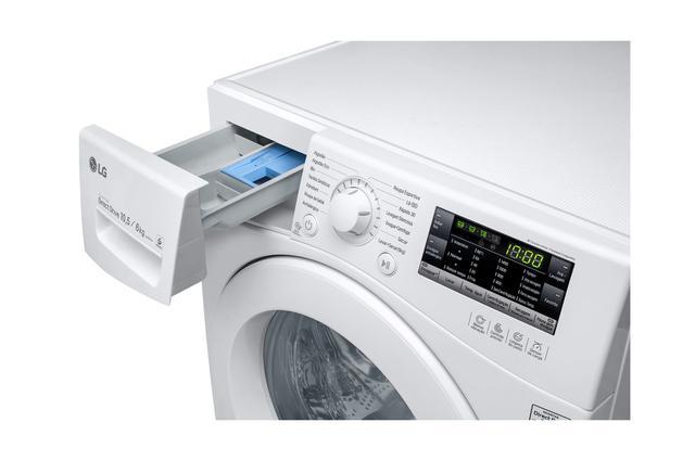 Imagem de Lava e Seca LG Prime Direct 10,5 kg Branca WD10WP6A  220 volts