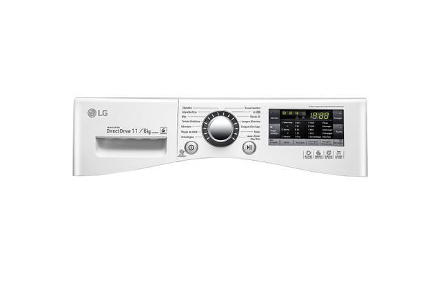 Imagem de Lava e Seca LG Prime Touch 11 kg Branca WD11WP6 - 127 Volts