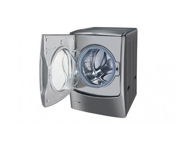 Imagem de Lava e Seca LG Twin Wash Aço Escovado 17kg 220V  WD17VTS6A