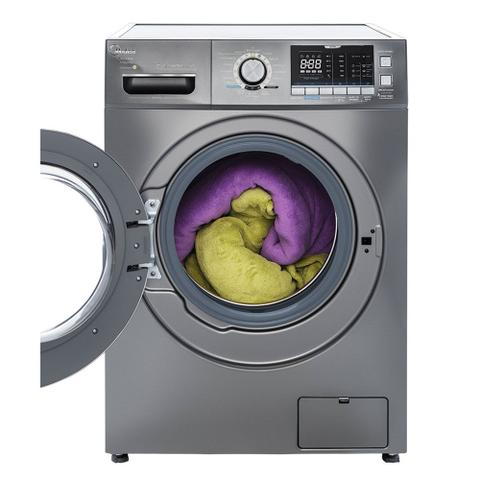 Imagem de Lava e Seca Midea Storm Wash Inverter Tambor 4D 12kg Prata 220V LSD12X2