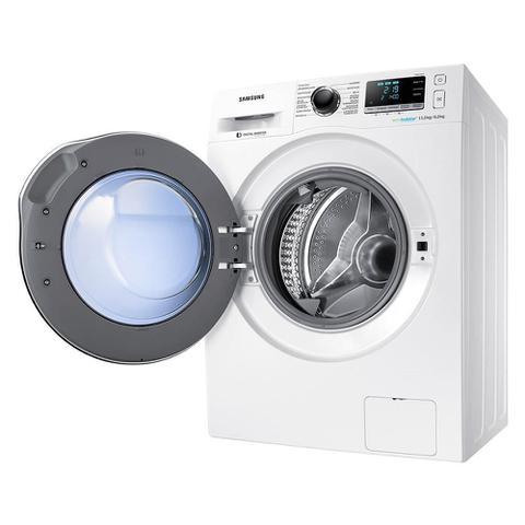 Imagem de Lava e Seca Samsung 11Kg WD6000 WD11J6410AW Ecobubble Branca