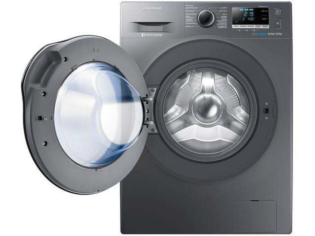 Imagem de Lava e Seca Samsung 9kg Inox WD6000