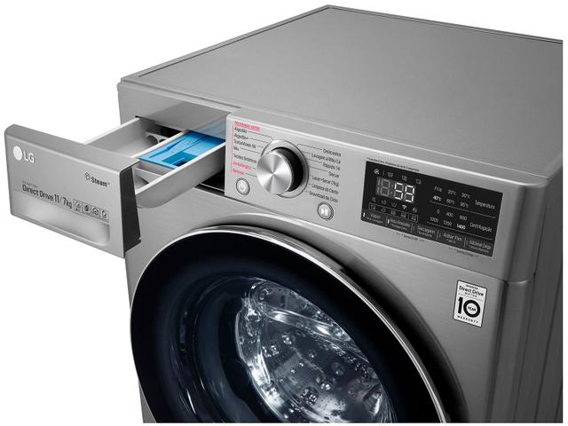 Imagem de Lava e Seca Smart LG 11kg VC3 CV7011TC4 Motor