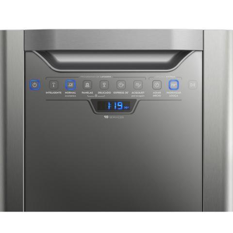 Imagem de Lava-Louça Electrolux 10 Serviços Inox 127V LV10X