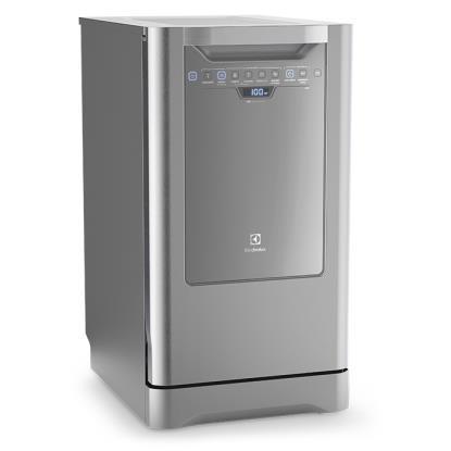 Imagem de Lava-Louça Electrolux Inox 10 Serviços Branco 220V (LI10X)