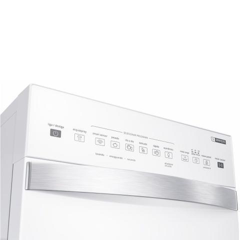 Imagem de Lava-Louças 10 Serviços Brastemp Branco com Ciclo Pesado - BLF10BB