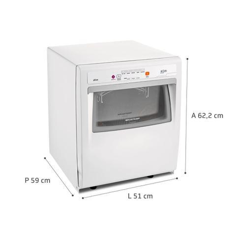 Imagem de Lava Louças 8 Serviços Brastemp Compacta Branca com Ciclo Pesado - BLF08AB