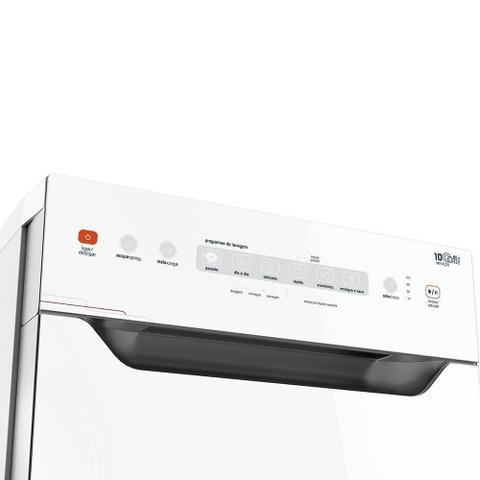 Imagem de Lava-Louças BLF10 Ative! 10 Serviços Painel Touch Branco  - Brastemp