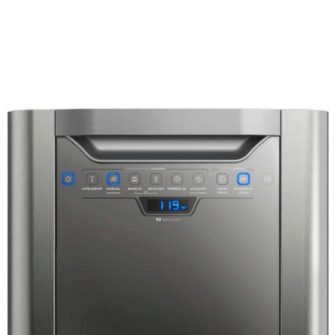 Imagem de Lava Louças Electrolux 10 Serviços com Aquajet LV10X 110V