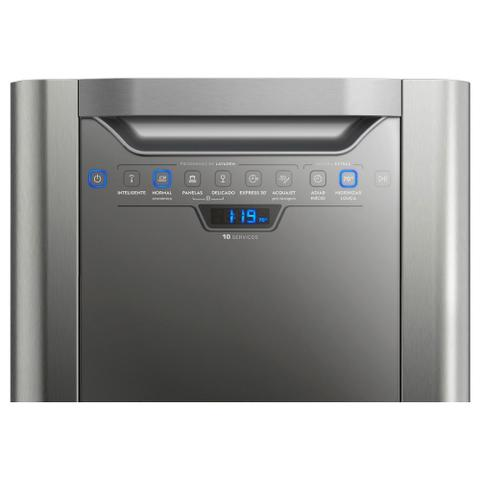 Imagem de Lava-Louças Electrolux 10 Serviços LV10X Inox 110V 24451TBB189