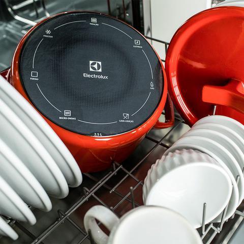 Imagem de Lava-Louças Electrolux 8 Serviços Cinza (LE08S)