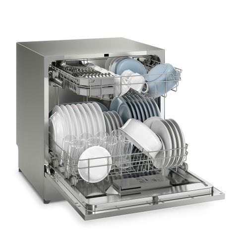 Imagem de Lava Louças Electrolux 8 Serviços com Programa Turbo LL08S Inox 110V
