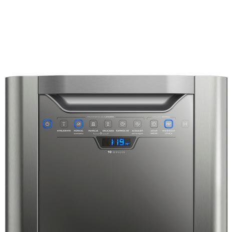 Imagem de Lava Louças Electrolux Inox 10 Serviços (LV10X) 127V