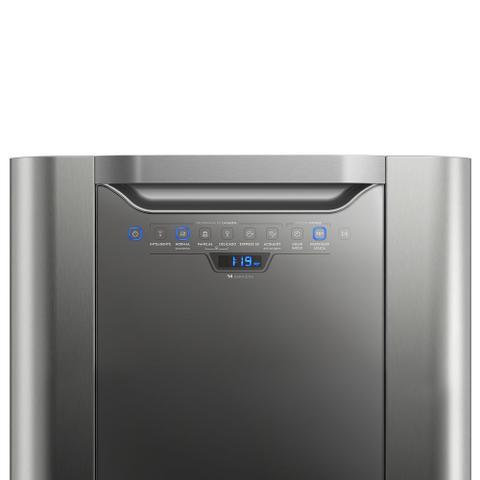 Imagem de Lava-Louças Electrolux Inox 14 Serviços (LV14X) 127V